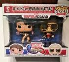 Funko Pop Exclusive Captain Marvel Vs Chun-Li Marvel Vs Capc