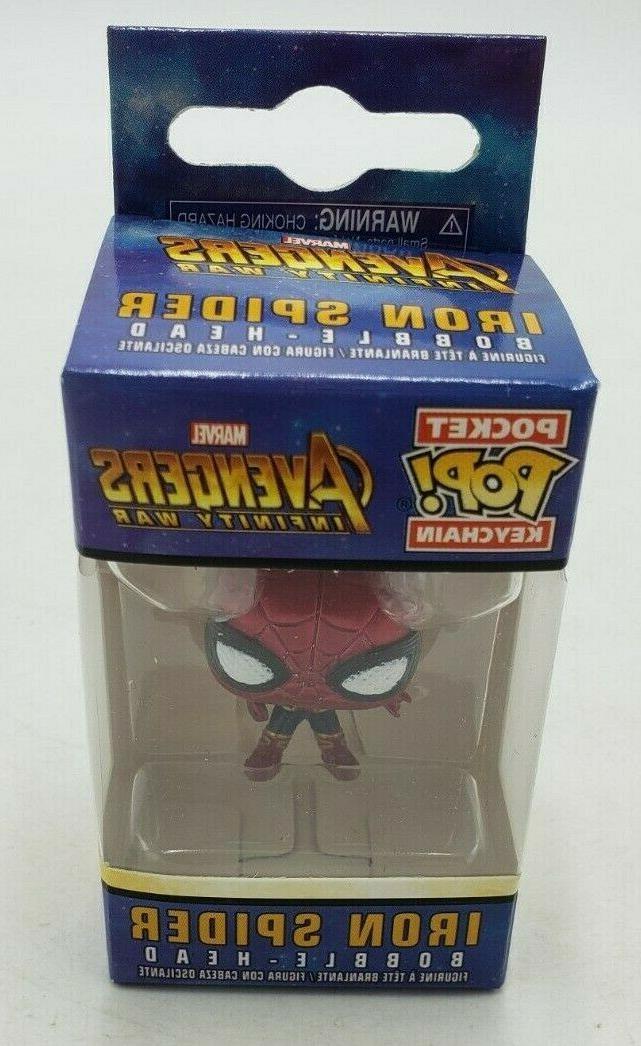 Funko Pop Keychain Marvel: Avengers Infinity War-Iron Spider