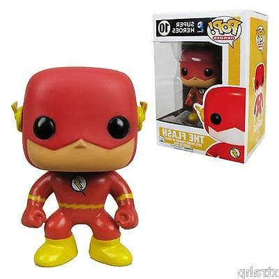 "Funko Pop The Flash Dc Universe 3.75"" Vinyl Figure New Red"