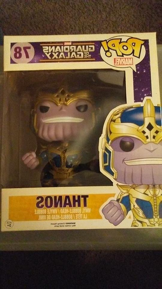 Thanos Funko Pop Marvel Guardians of the Galaxy Vaulted