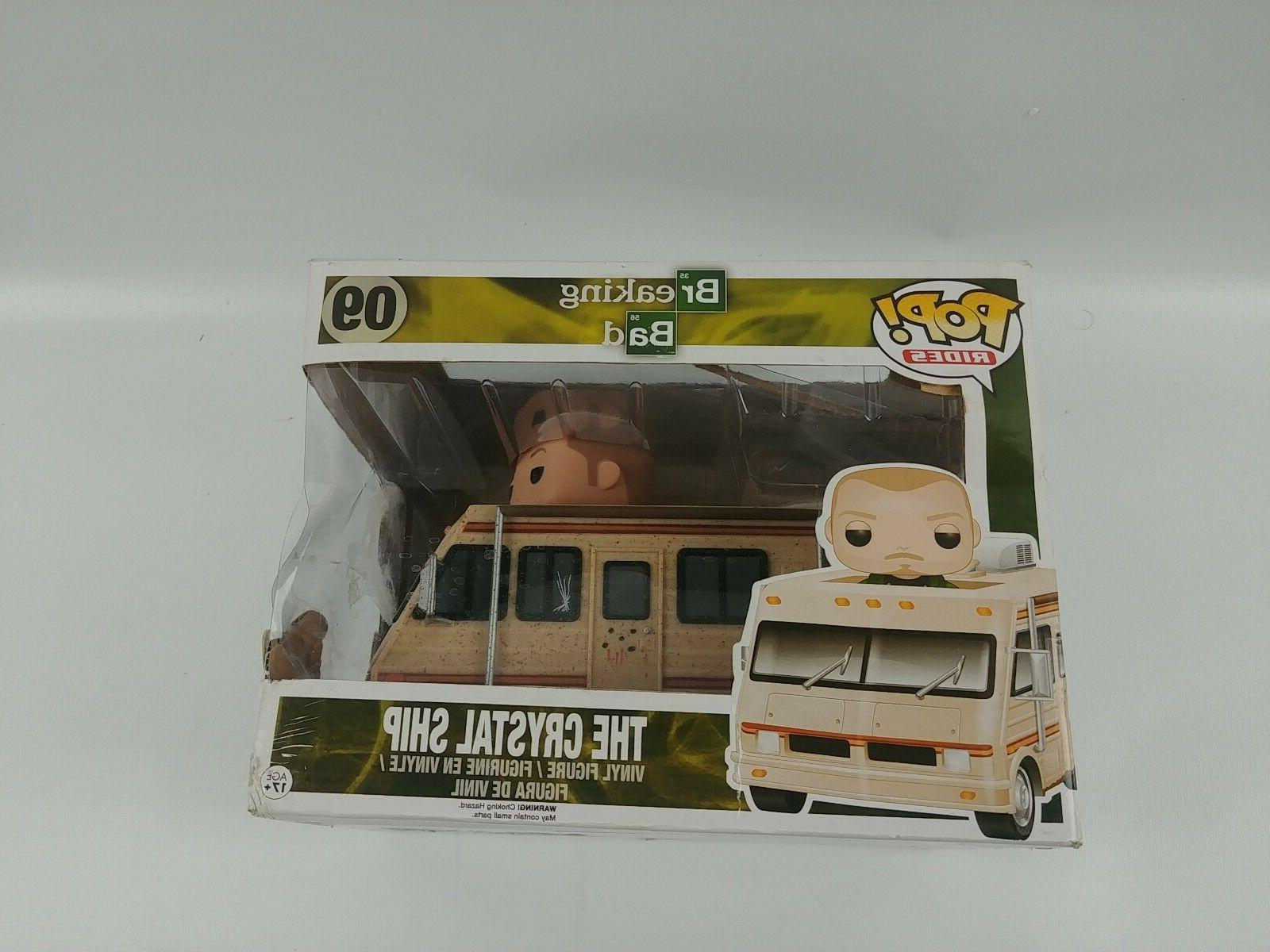 Breaking Bad The Crystal Ship Funko POP Rides Action Figure