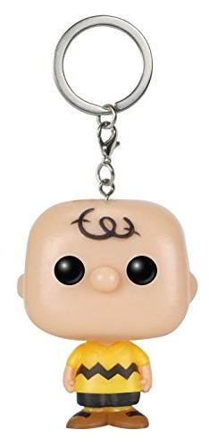 Funko Pocket POP Keychain: Peanuts, Charlie Brown