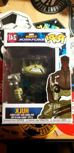Funko POP Marvel Thor Ragnarok Hulk #241 Target Exclusive 10