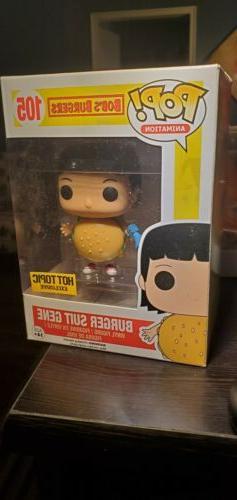 Hot Topic Exclusive Bob's Burgers Burger Suit Gene Belcher F