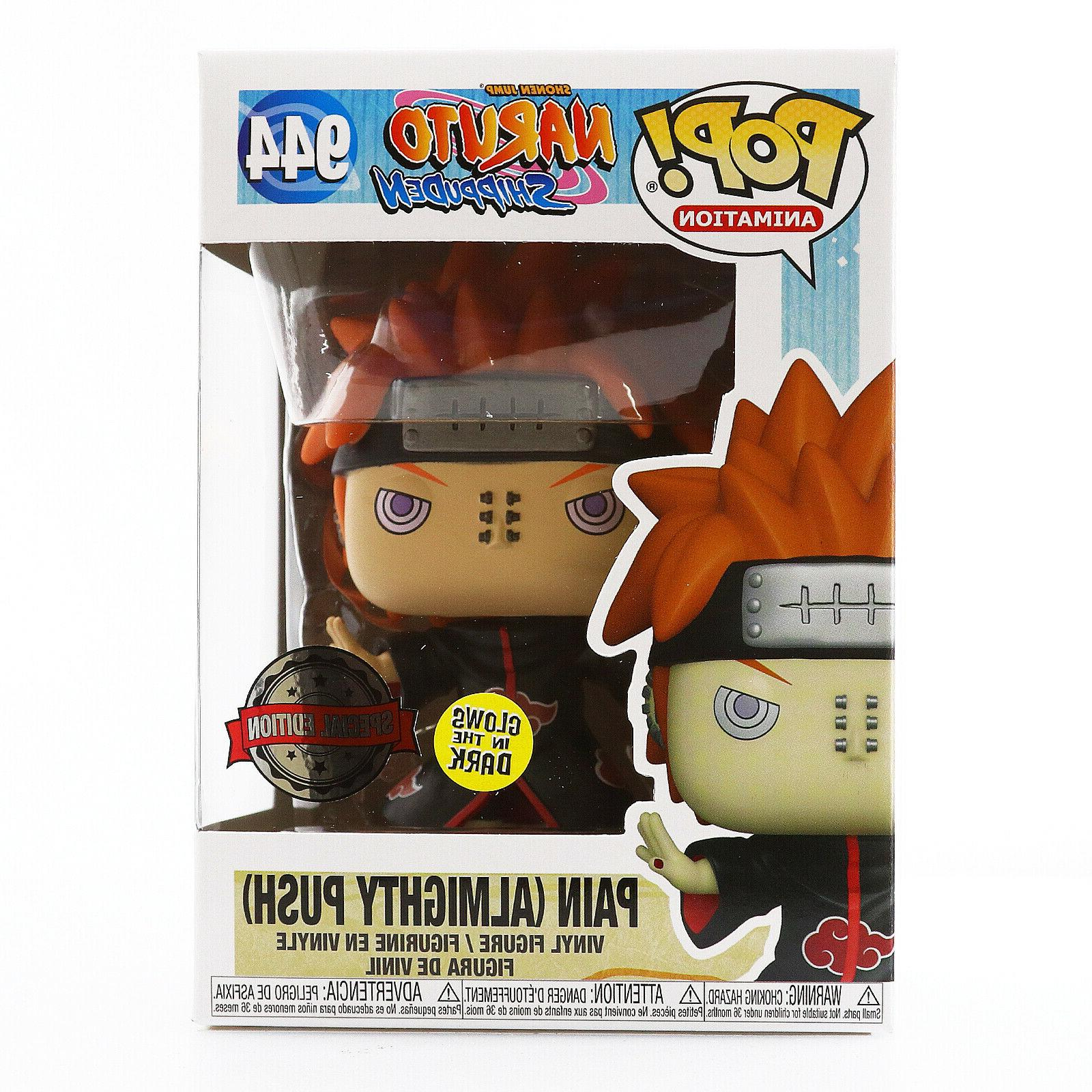 in hand pop naruto pain glows in