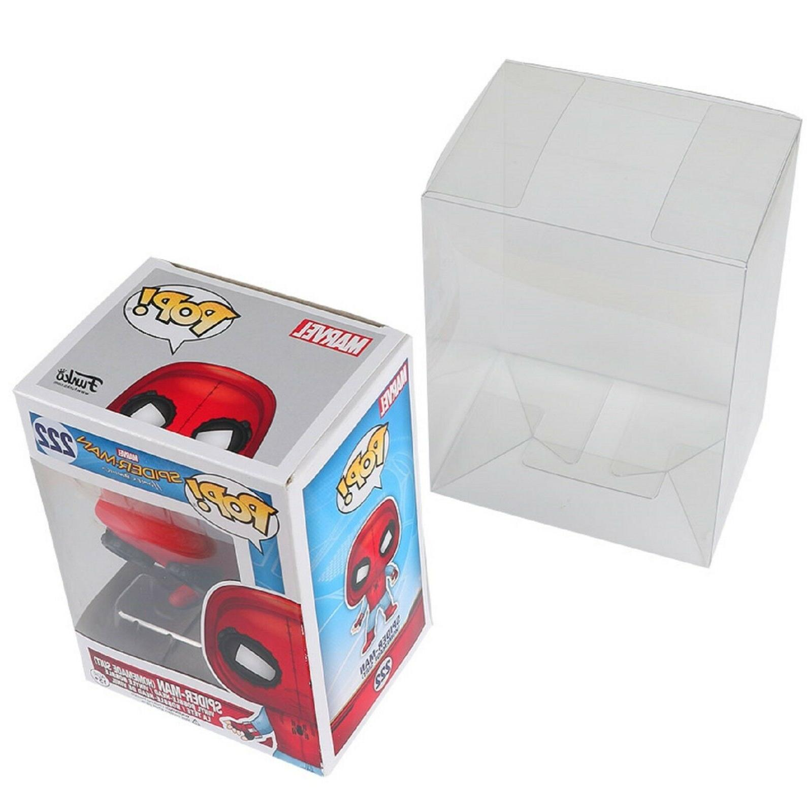 "Lot 100 Collectibles Funko Pop Protector 4"" inch"