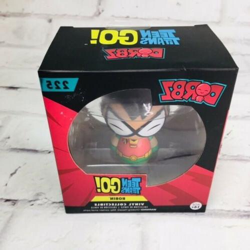 New Dorbz Dc Universe Robin Figure # 225 NIB Teen Titans Go
