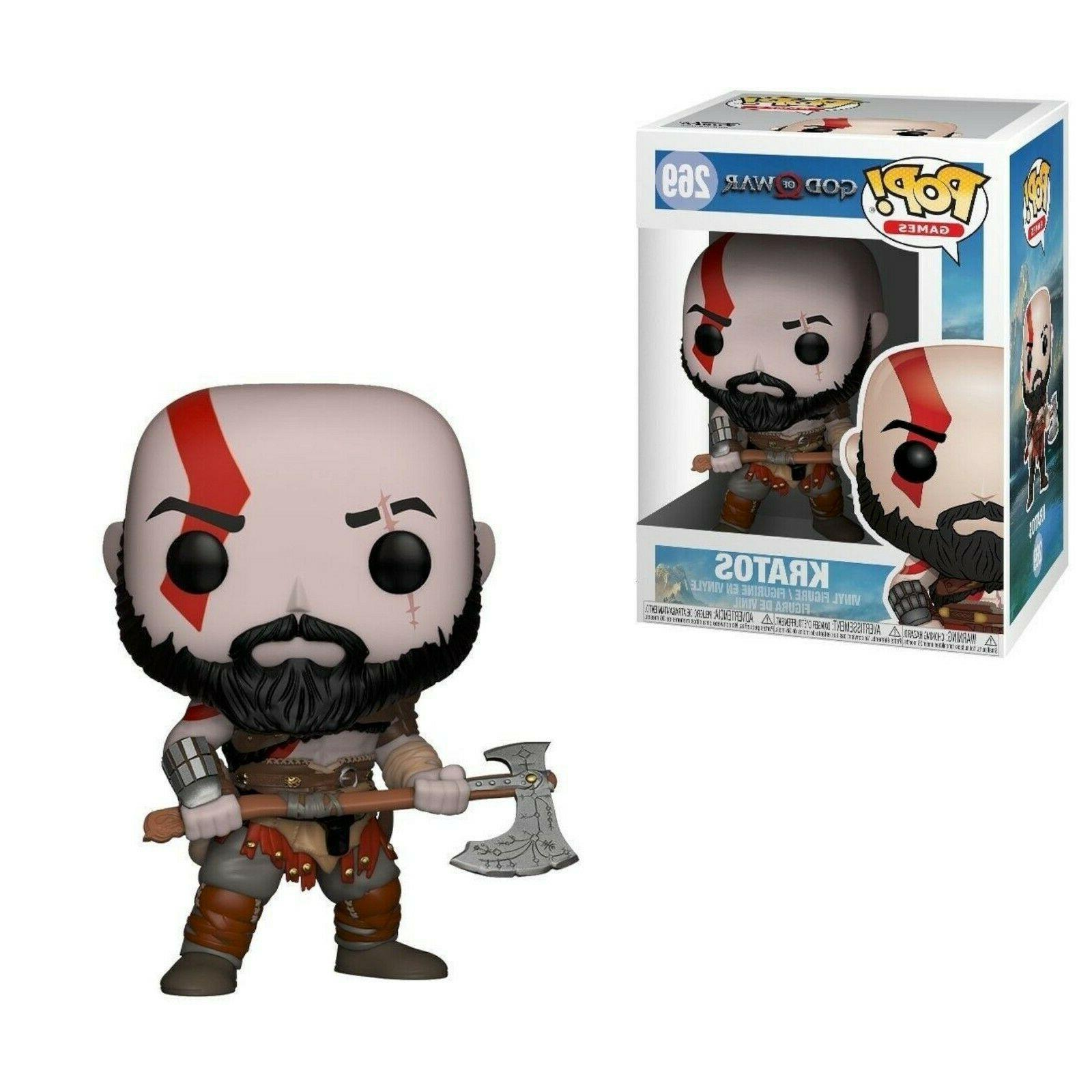 new funko pop games god of war