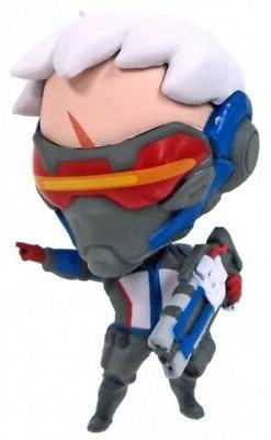 Cute But Deadly Overwatch Series 2 Soldier 76 PVC Figure