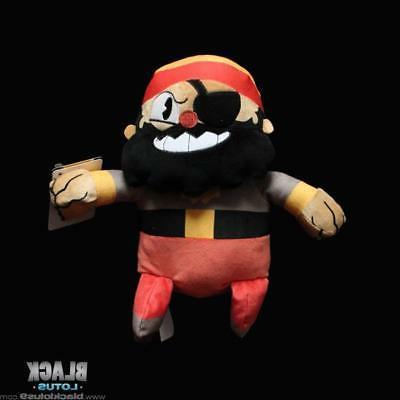 plush captain brineybeard cuphead xbox studio mdhr