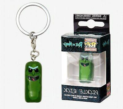 pocket pop keychain rick and morty pickle