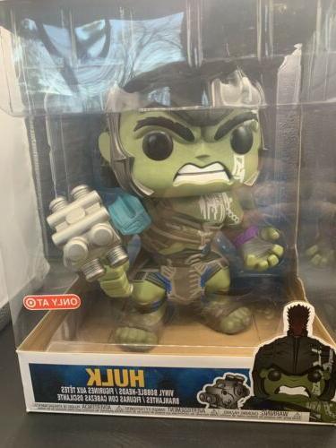 "Funko Pop 10 10"" Ragnarok Hulk Target Exclusive"