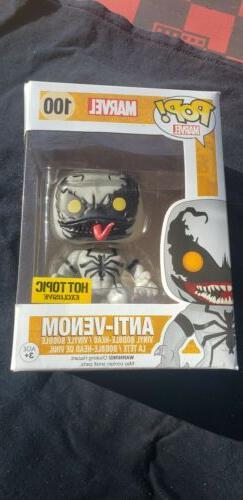 Funko Pop!#100 Anti-Venom Hot Topic Exclusive Vaulted Rare H