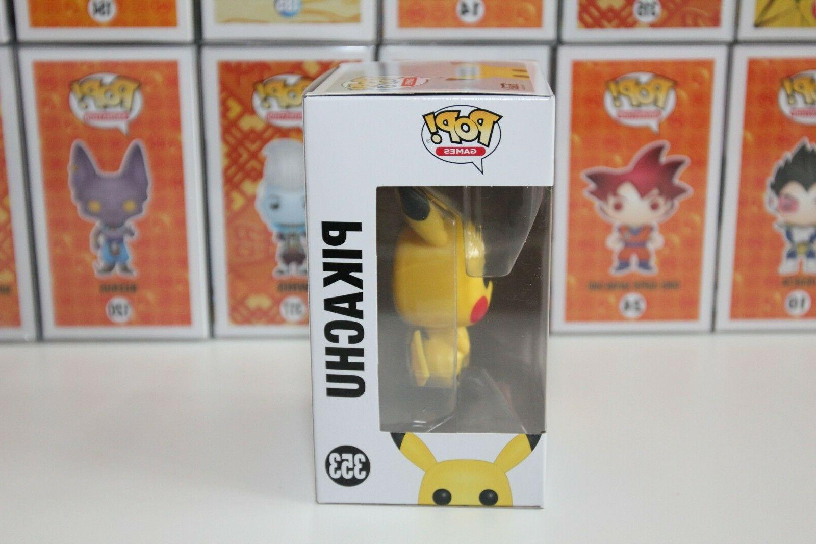 "Funko Pikachu Pokemon Vinyl 4"" Authentic"