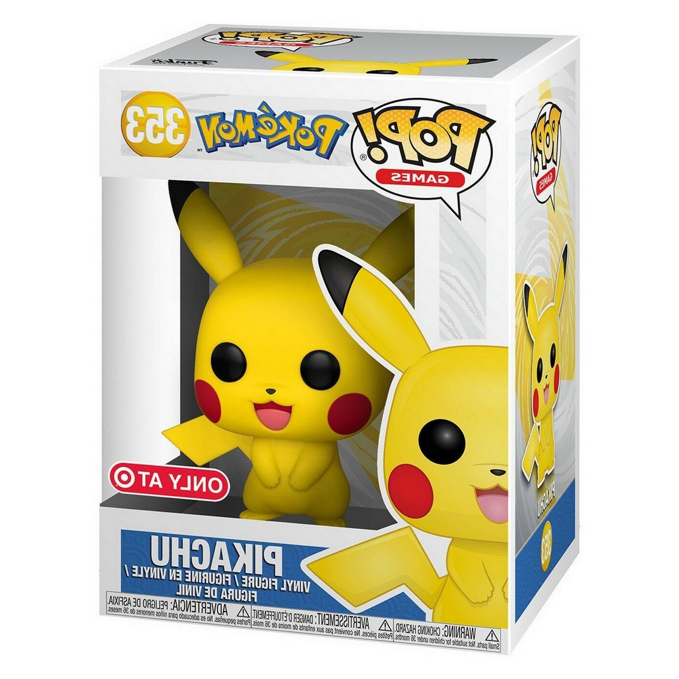 """Funko Pop #353 Pikachu Pokemon Vinyl 4"""""""