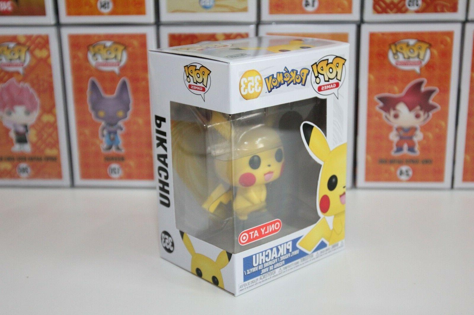 Funko Pikachu Pokemon Vinyl 100%