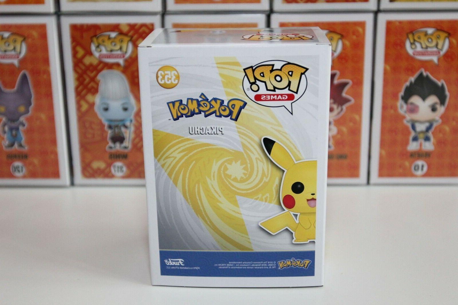 Funko | #353 Pikachu Pokemon Target Exclusive Vinyl 100% Authentic