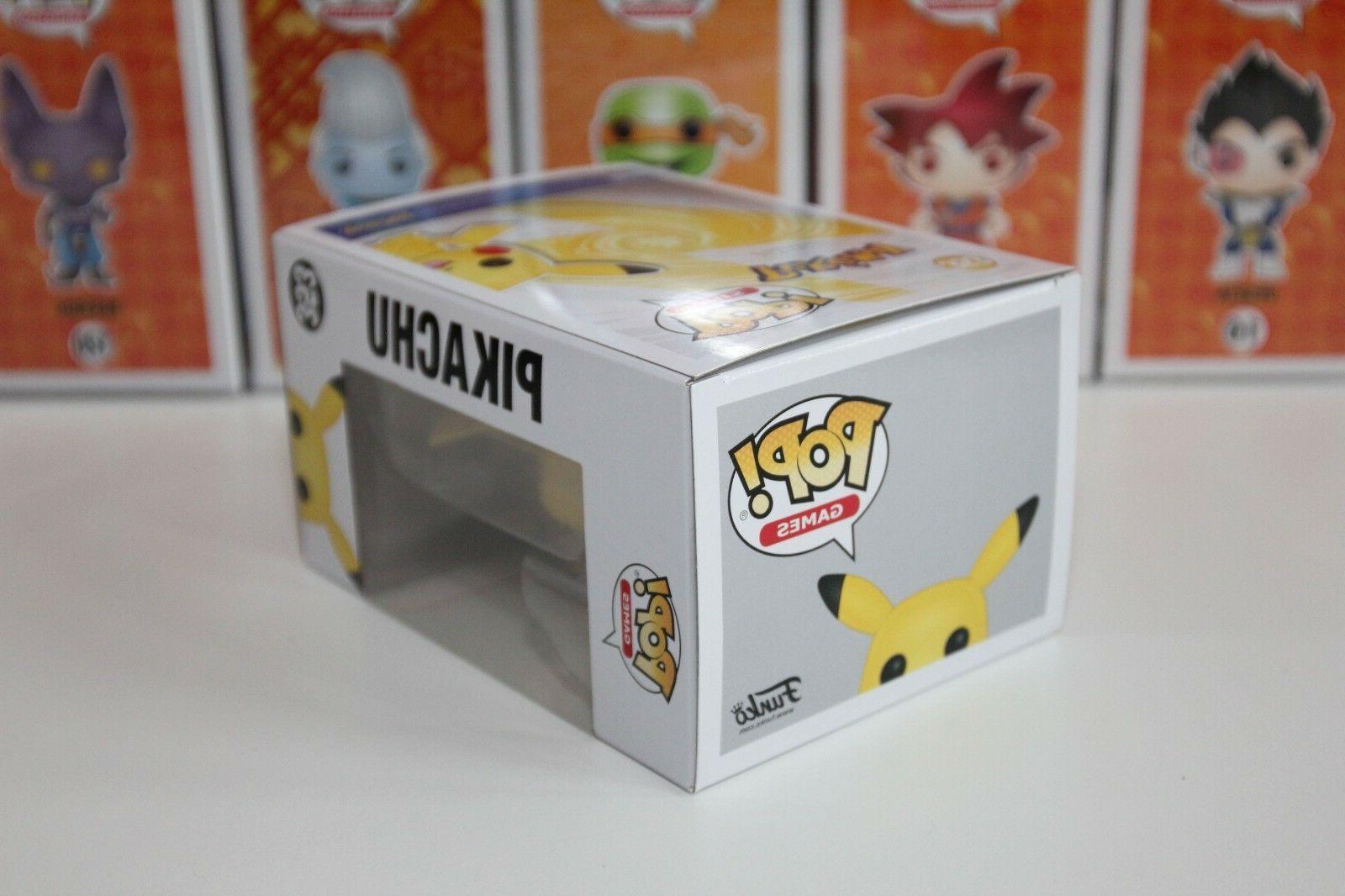 """Funko Pikachu Pokemon Vinyl 4"""" 100%"""
