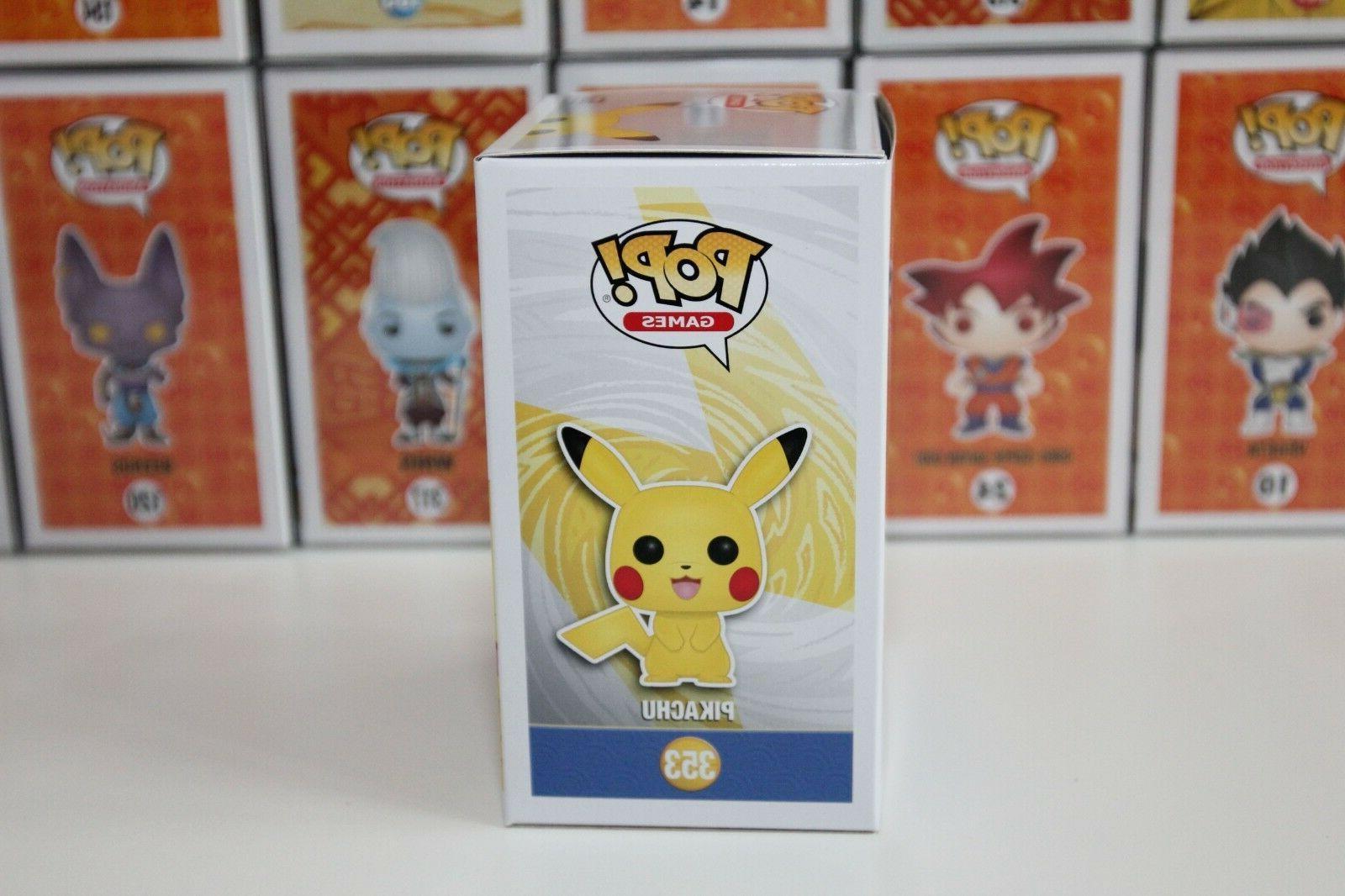 "Funko | #353 Pikachu Pokemon Exclusive Vinyl 4"" 100%"