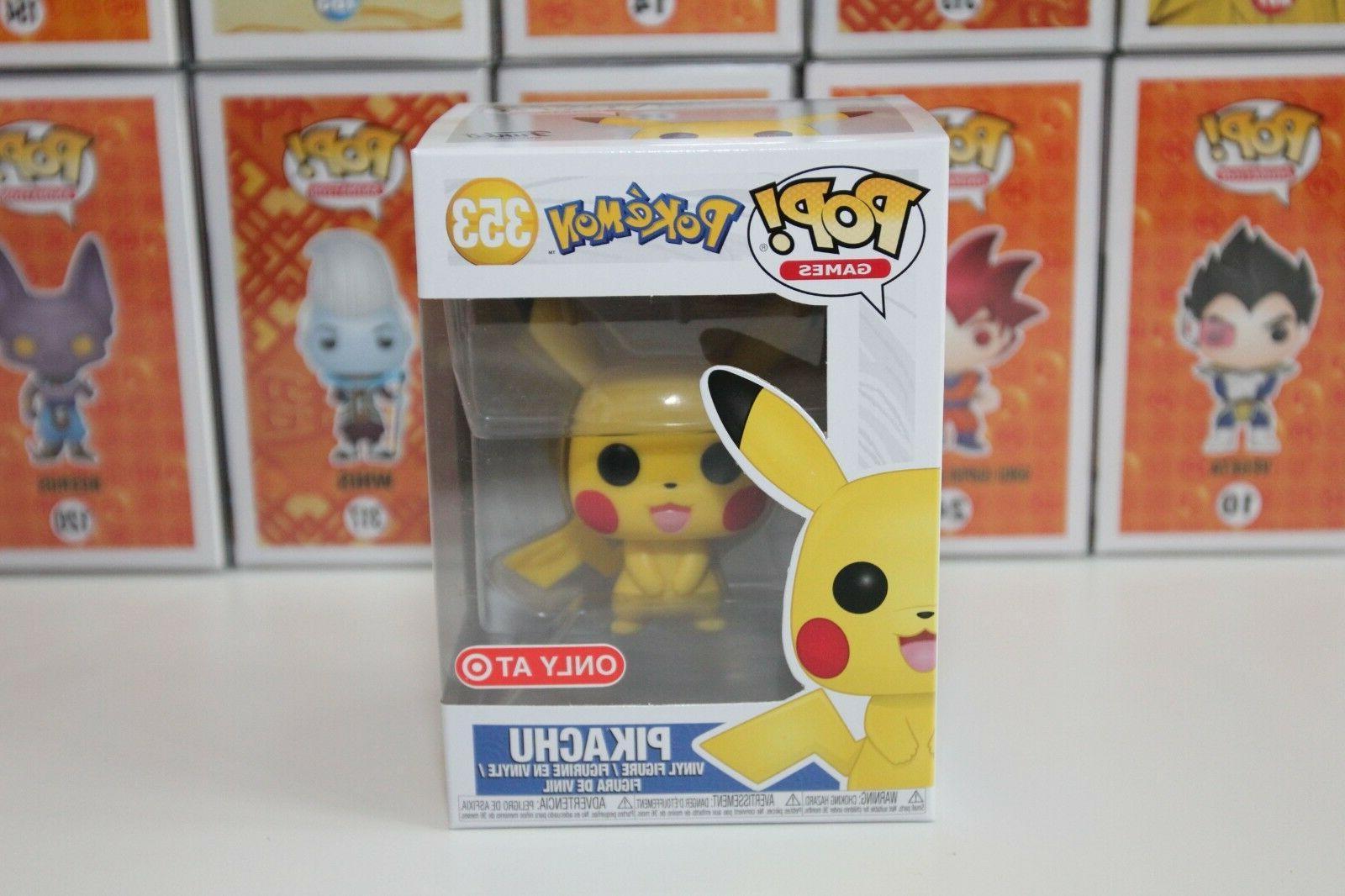 pop 353 pikachu pokemon target exclusive vinyl