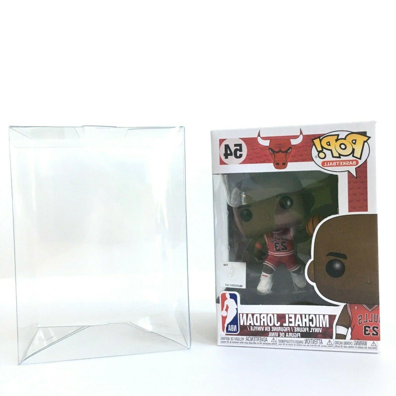 Funko Pop! #54 Michael Jordan With Pop Protector Case 23 NBA