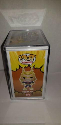 Funko All Might Glow #248 2017 My Hero & STACK