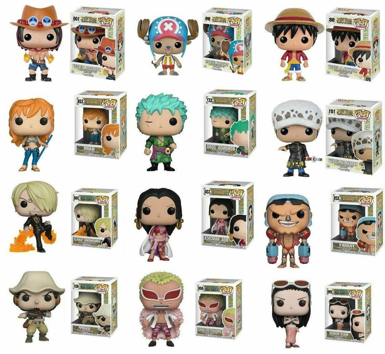 Funko Pop Animation ONE PIECE Wave 1,2,3  - Individual Vinyl