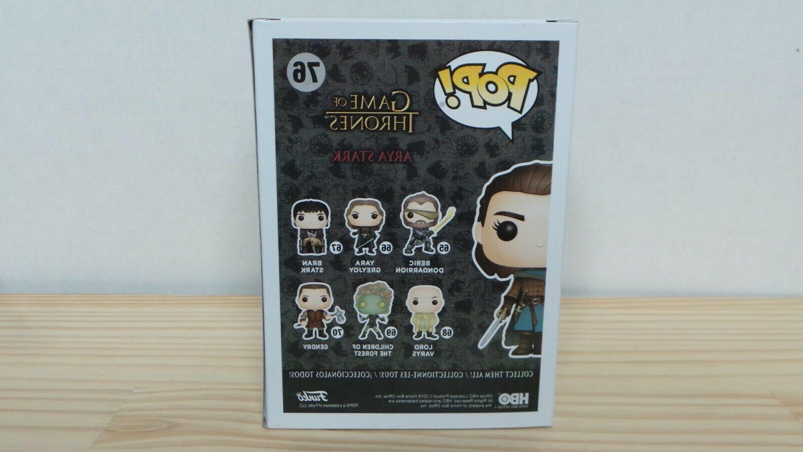 Funko POP! Arya #76 Spring Convention