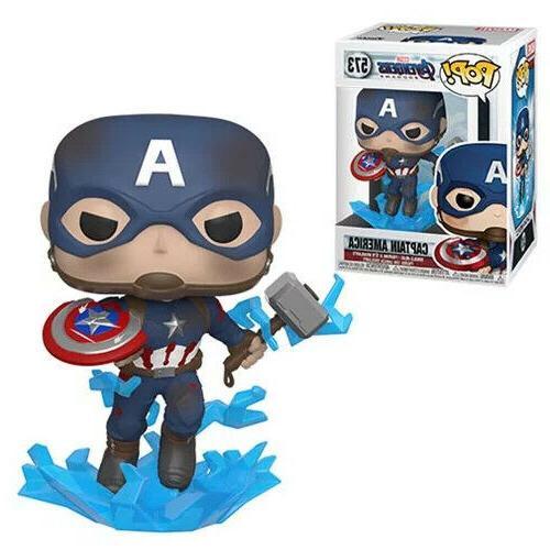 pop avengers endgame captain america w broken