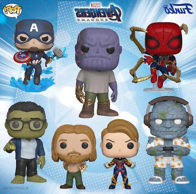 pop avengers endgame captain america with broken