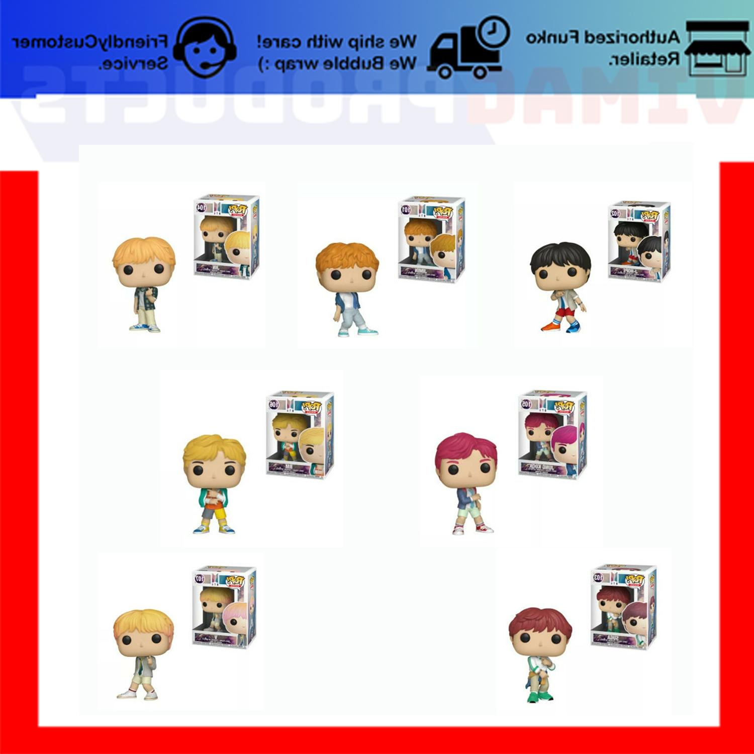 pop bts set of 7 pre order