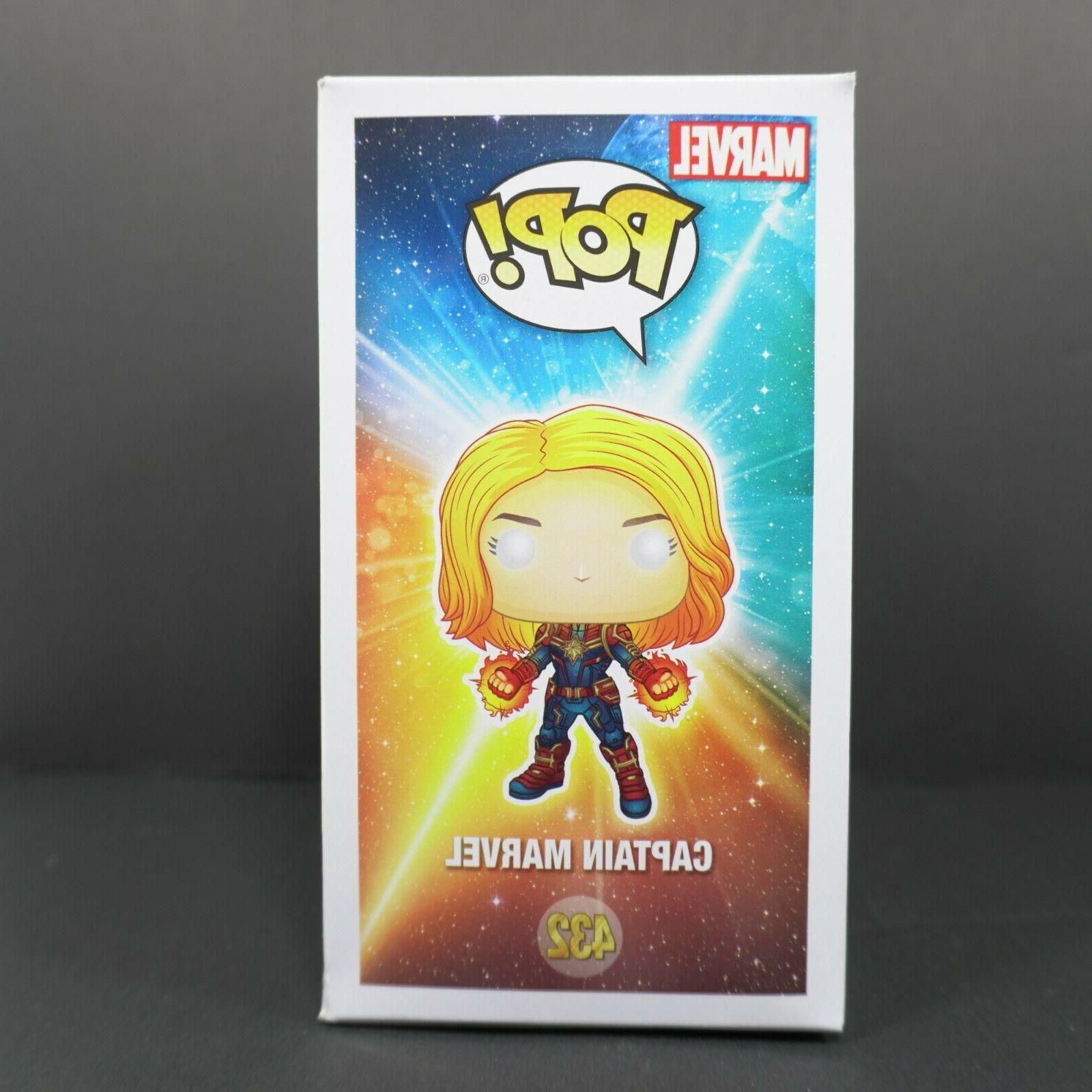 Funko Pop 432 Captain Marvel Exclusive
