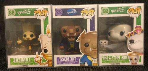 Funko and the Mrs. Potts Chip 92 Lumiere lot