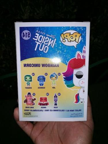 Funko Disney Exclusive Rainbow Unicorn New