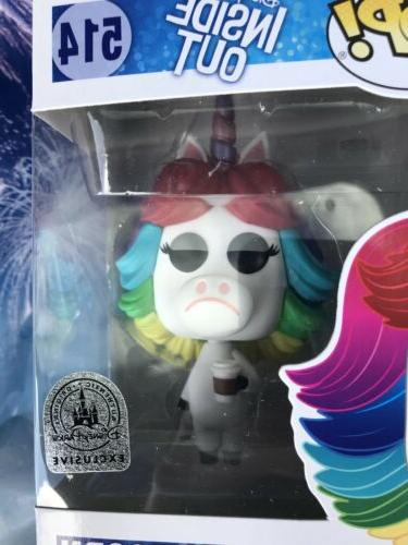 Funko Pop Disney Exclusive Out Rainbow Unicorn New