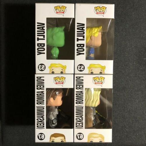 Funko POP! Fallout of 4 GITD Boy Armor Hot Topic NYCC