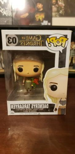 Funko Pop! Game of Thrones Daenerys Targaryen with Dragon #0