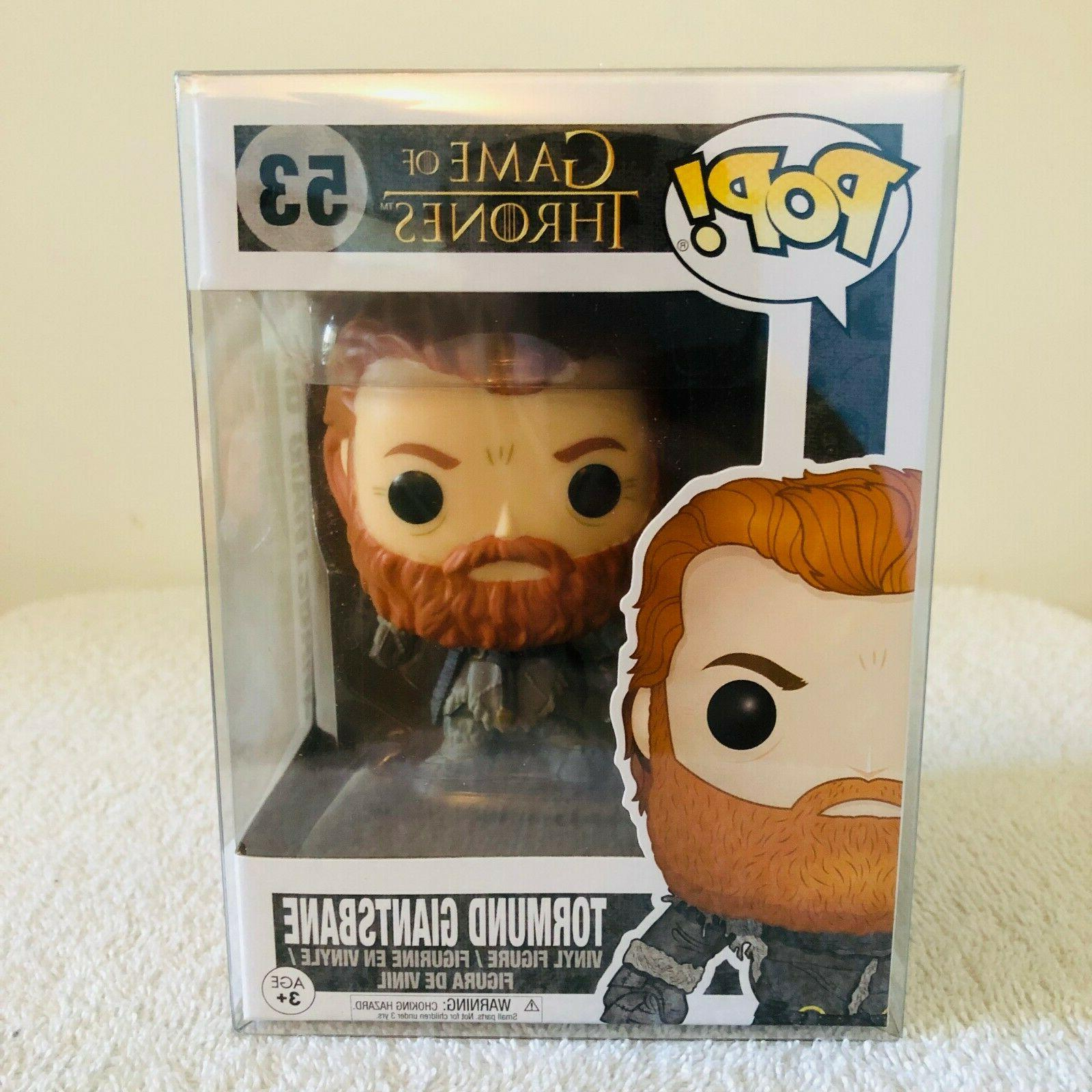 Funko Thrones GOT Tormund Giantsbane #53 w/