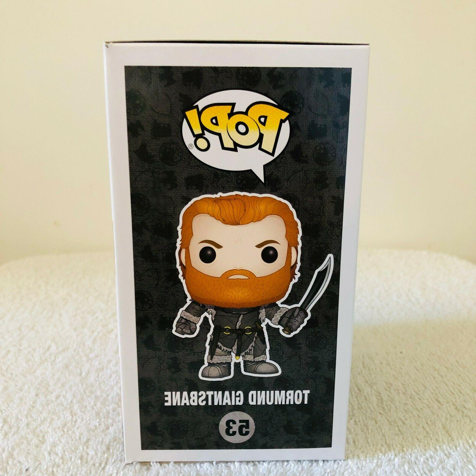 Funko Pop Thrones Tormund Giantsbane #53