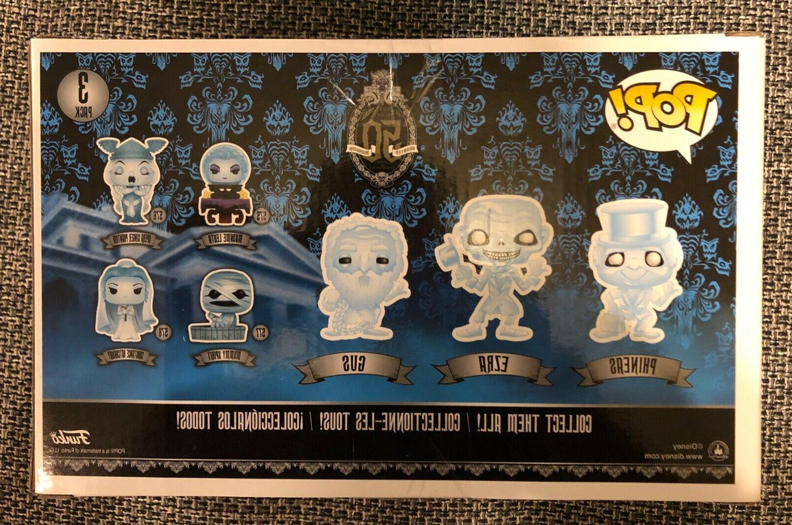 FUNKO MANSION Ghosts 3 Pack Phineas EXCLUSIVE