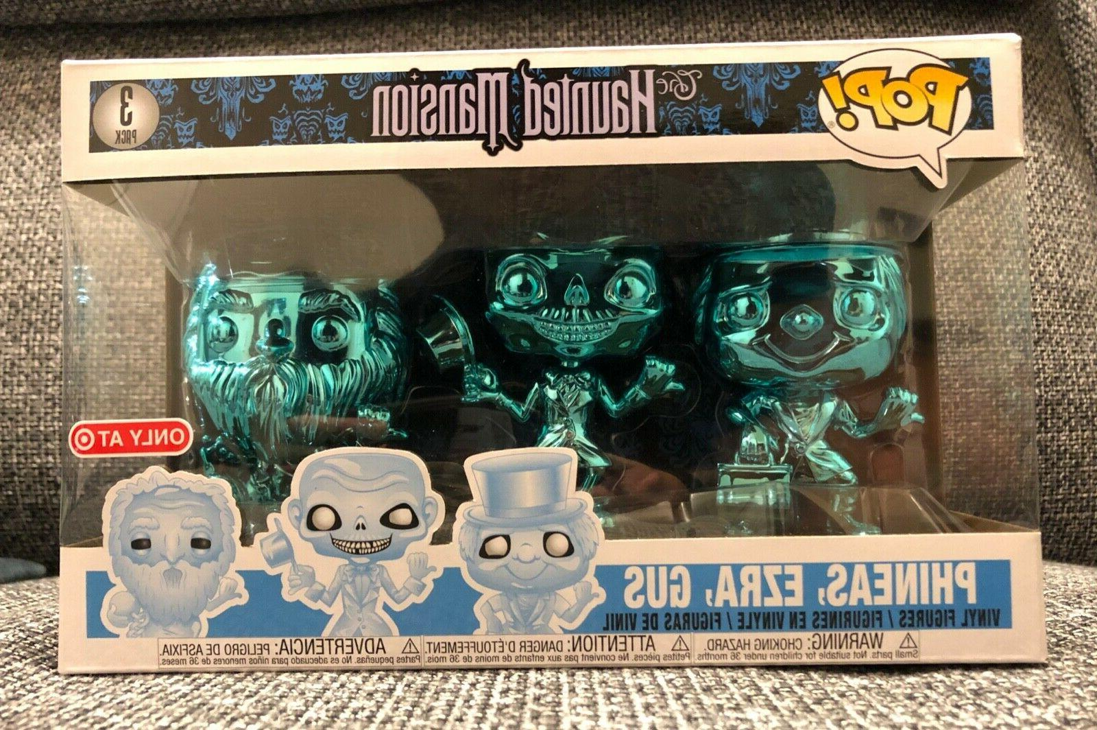 pop haunted mansion ghosts chrome 3 pack