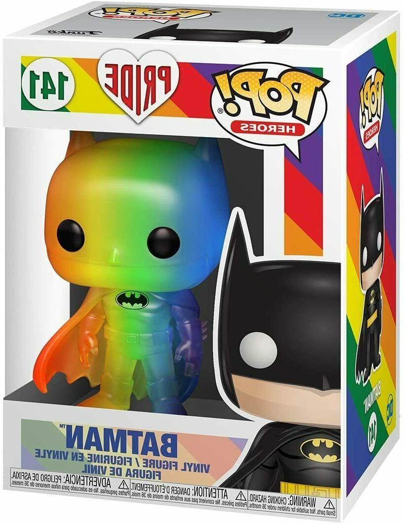pop heroes batman pride 2020 rainbow mint