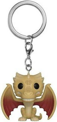 FUNKO POP! KEYCHAINS: Game of Thrones - Viserion  Vinyl Figu