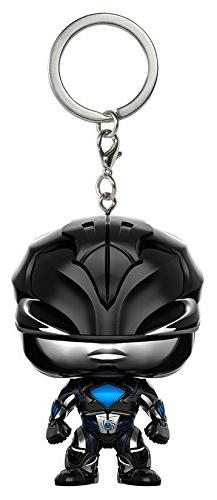 Funko Pop Keychain: Power Rangers Black Ranger Toy Figure