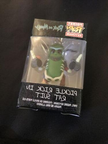 Funko Pop! Keychain: Rick & Morty - Rick in Rat Suit