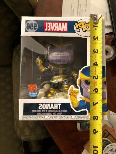 pop marvel 80 years thanos snap deluxe