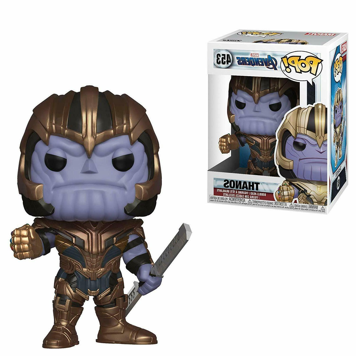 Funko Pop! Marvel: Avengers: Endgame - Thanos Collectible Vi
