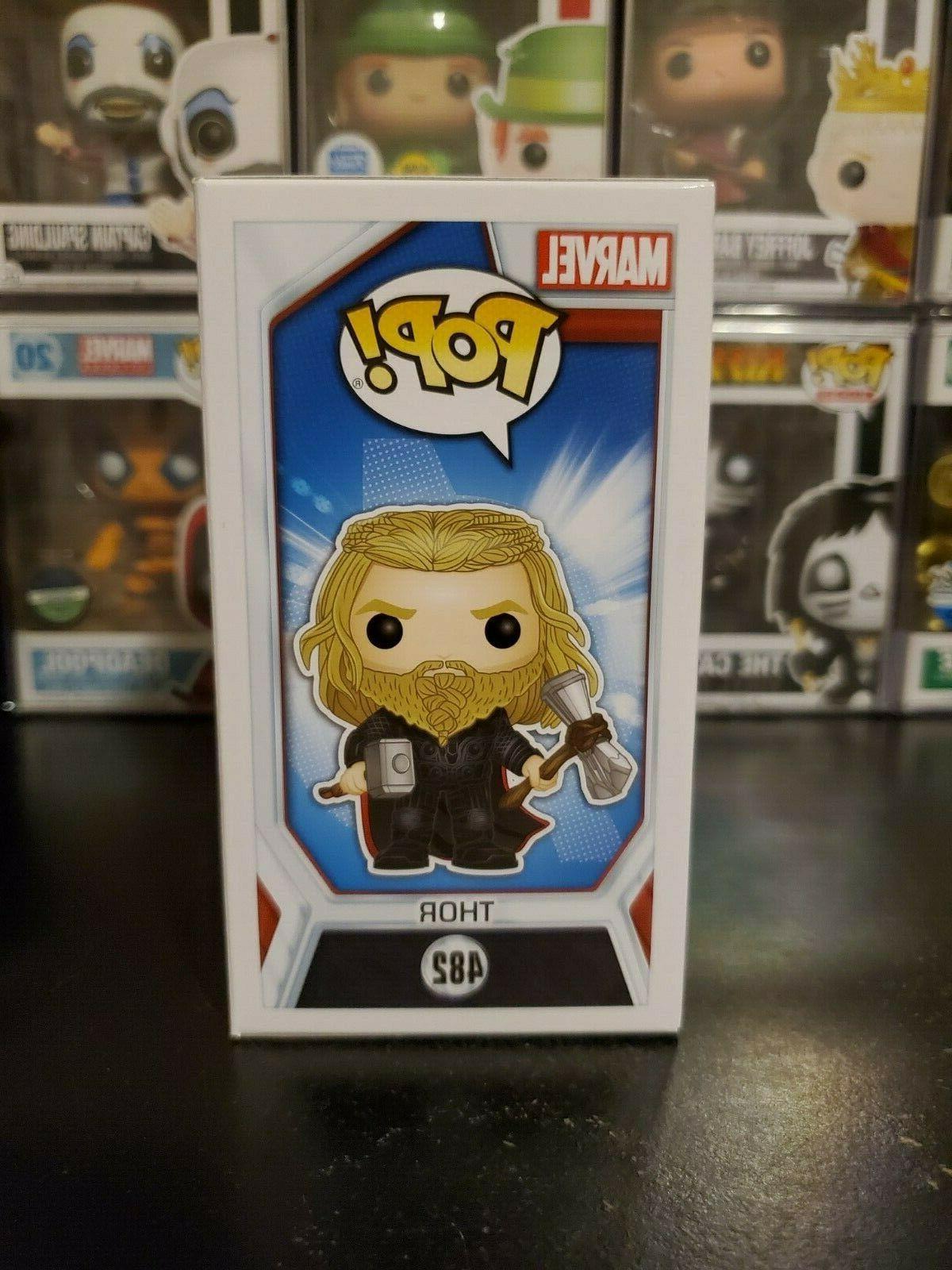 Funko Endgame Thor #482 Exclusive PROTECTOR!