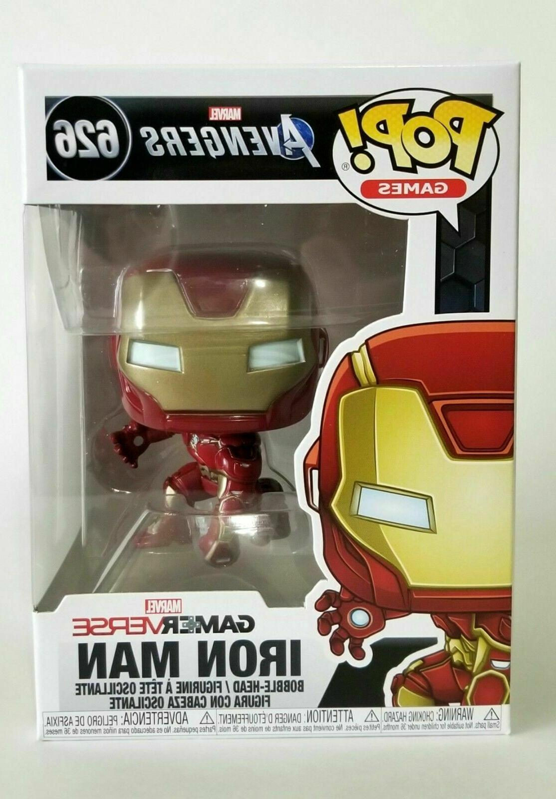 pop marvel avengers iron man stark tech