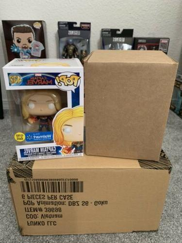 Funko Pop! Marvel Captain Marvel In Free